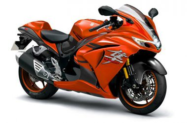 Orange Suzuki Hayabusa 33480