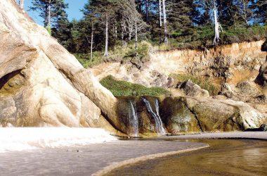 Super Hug Point Falls