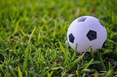 White Football Background