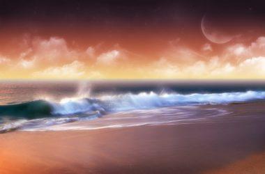 Landscape Beach Background hd