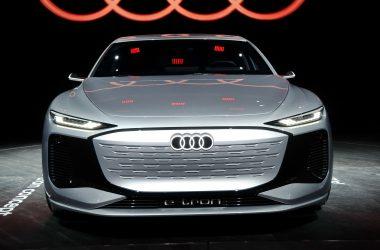 Awesome Audi A6 e-tron