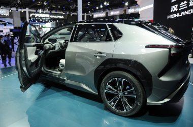 Beautiful Toyota bZ4X