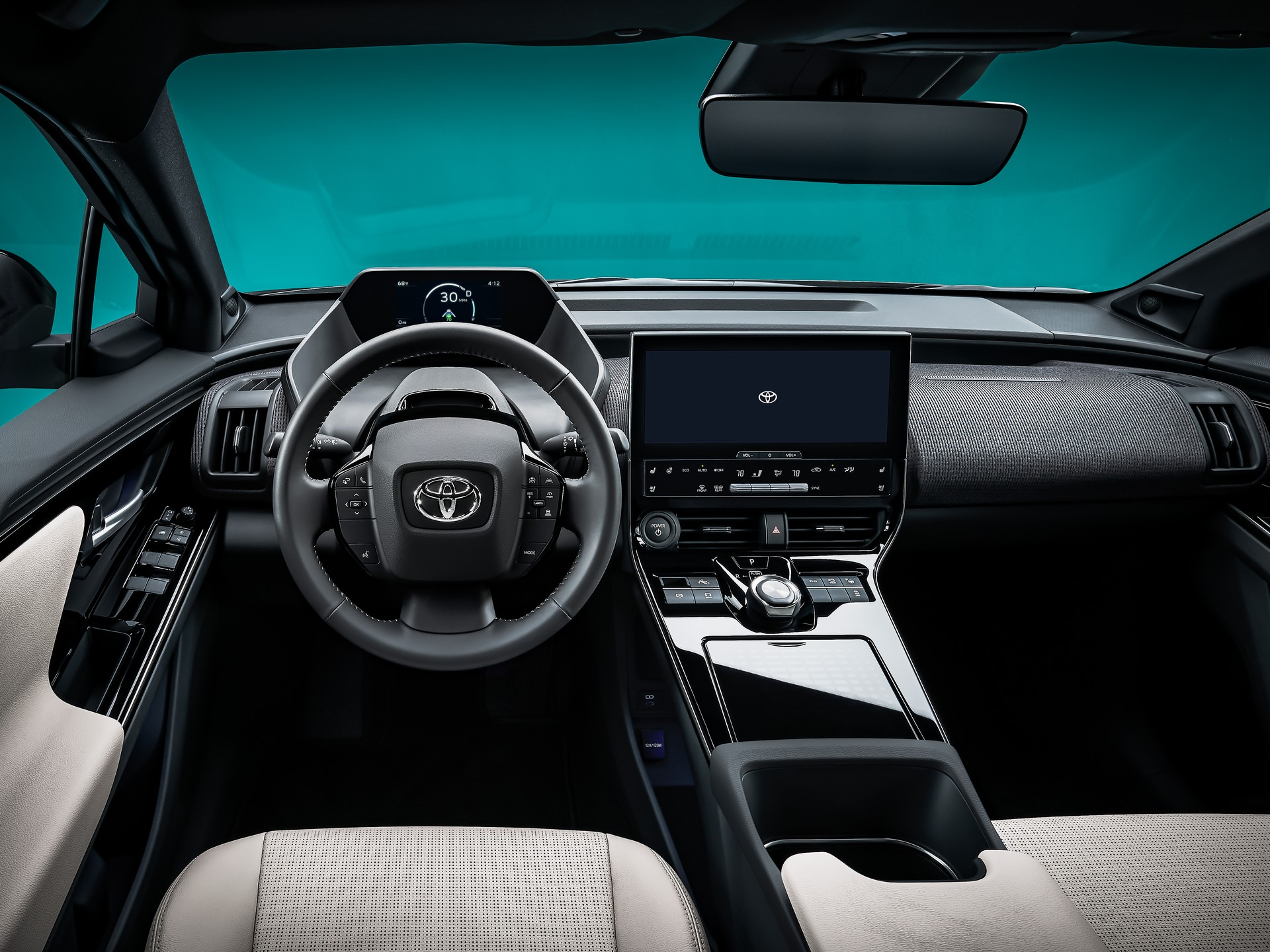 Interior Toyota bZ4X