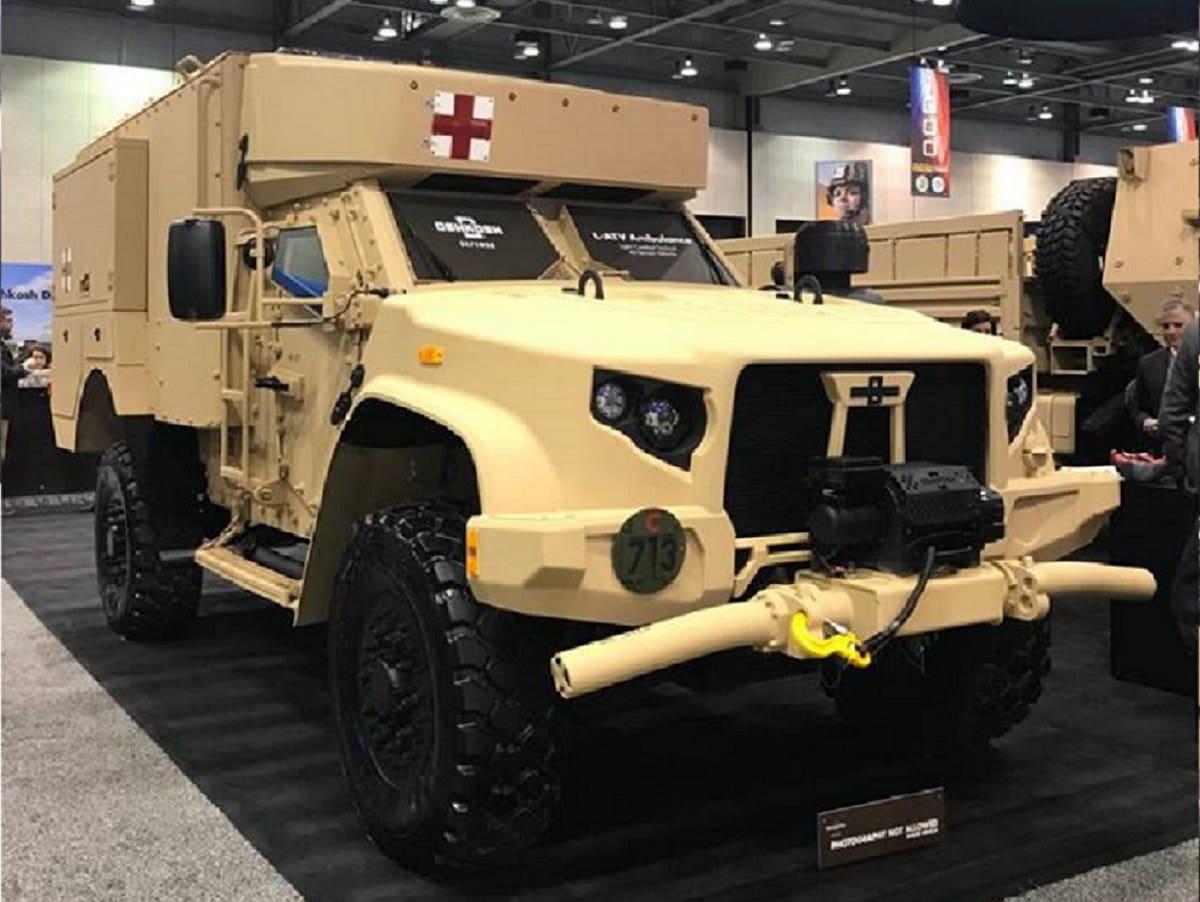 Nice Oshkosh L-ATV