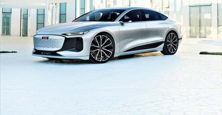 Top Audi A6 e-tron