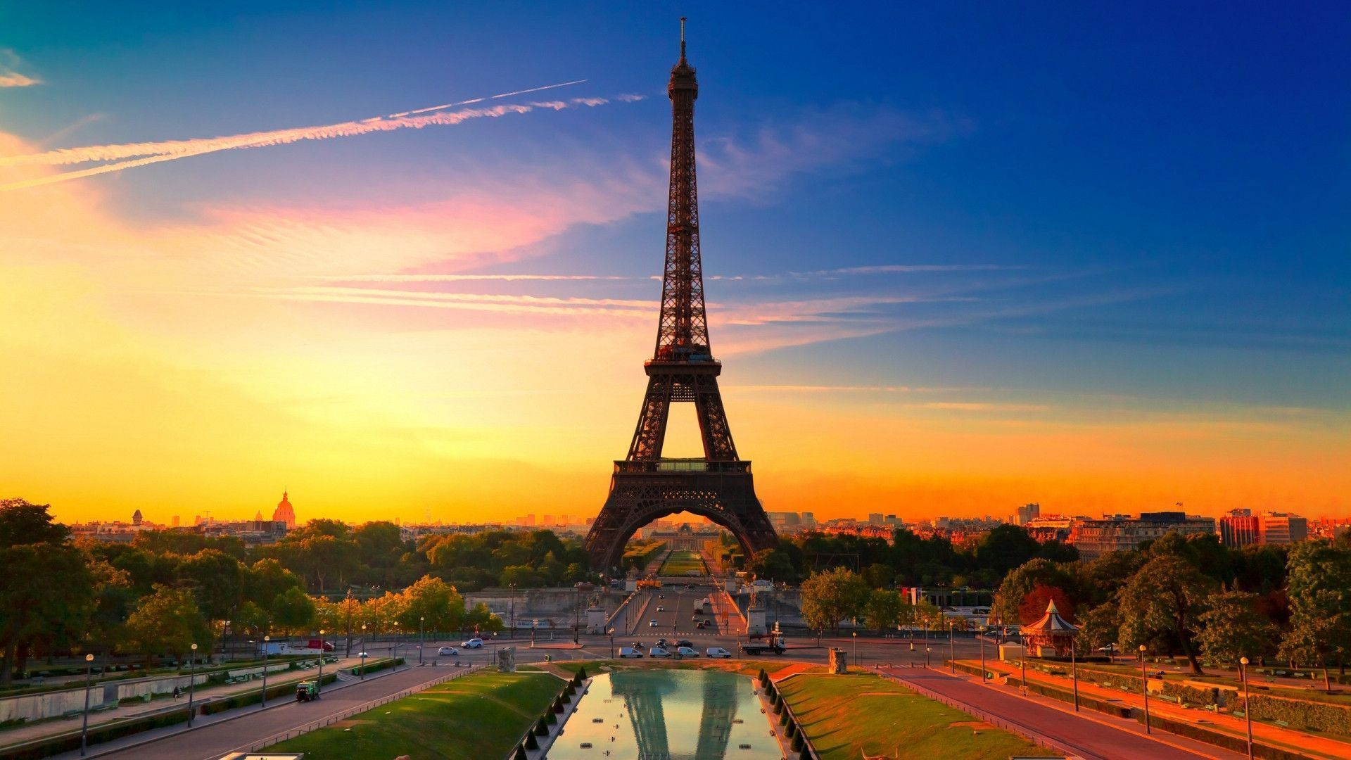 Landscape Paris Wallpaper