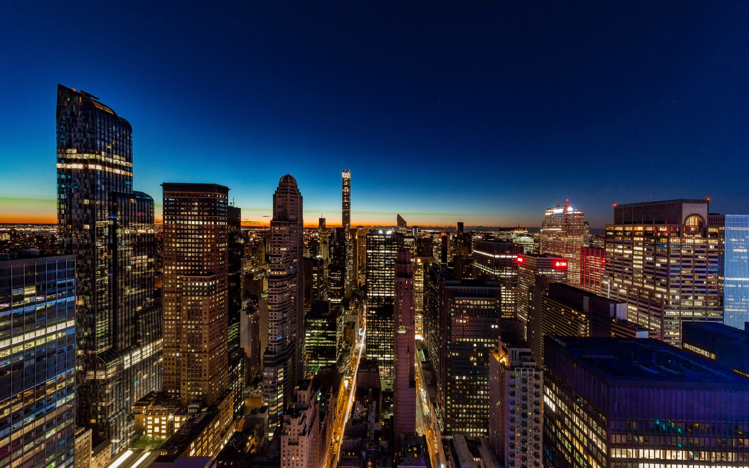 Night New York Image