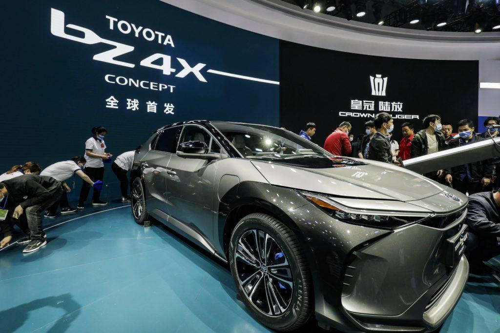 Wonderful Toyota bZ4X