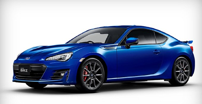 Blue Subaru BRZ Photo