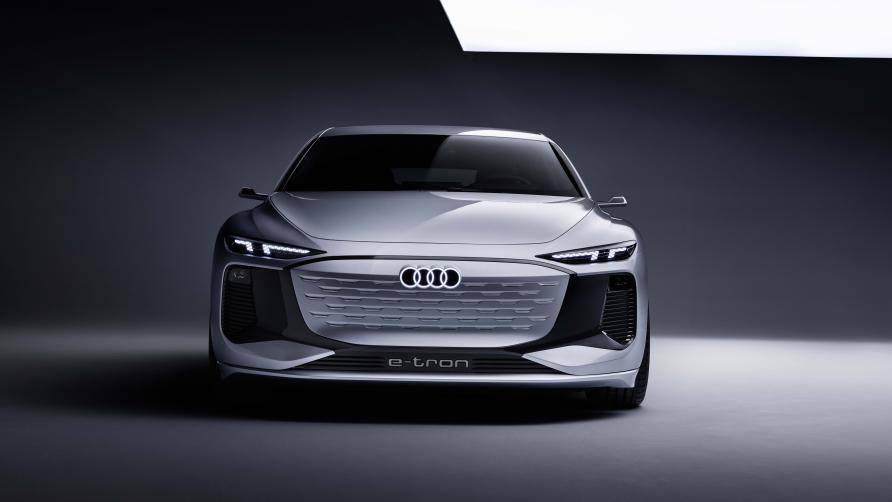 Front Side Audi A6 e-tron