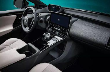 Inerior Toyota bZ4X