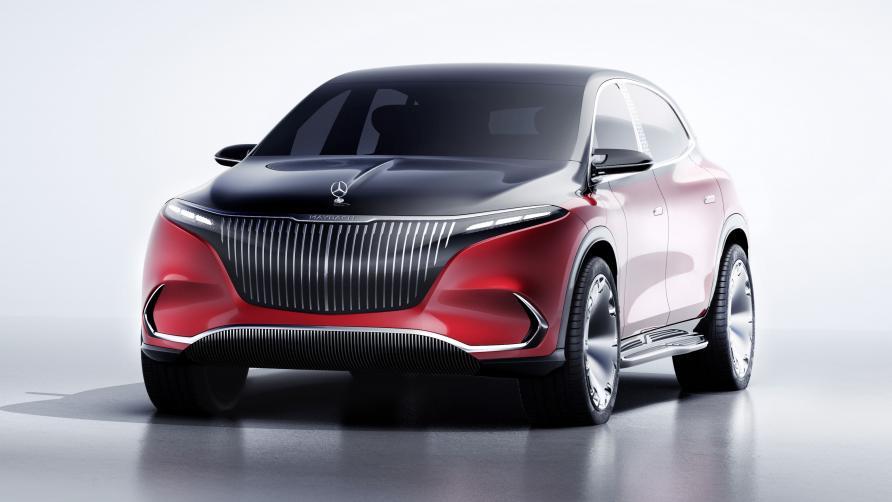 2021 Mercedes Maybach EQS