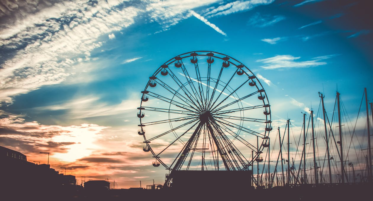 Awesome Ferris Wheel Wallpaper