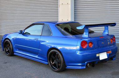 Backside Nissan Gtr 34