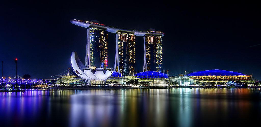 Beautiful Marina Bay Sands