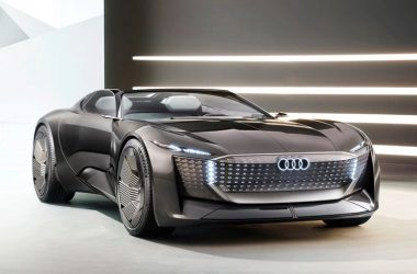 Black Audi Skysphere Concept