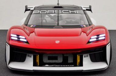 Front Side Porsche Mission R
