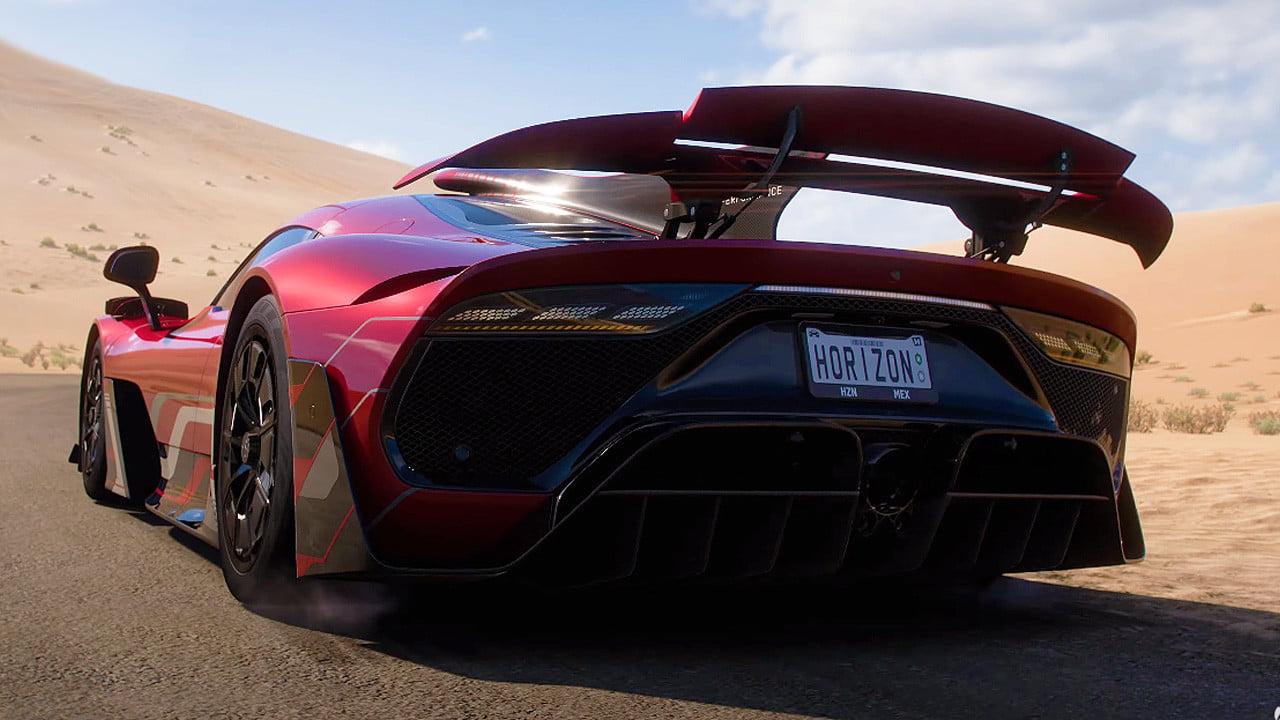 Red Forza Horizon 5