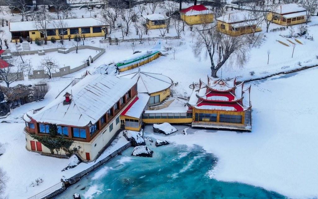 Top Frozen Lake
