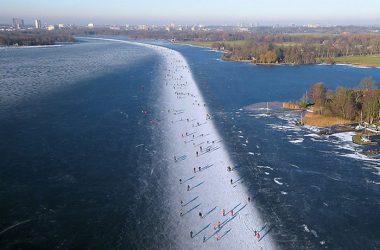 Widescreen Frozen Lake