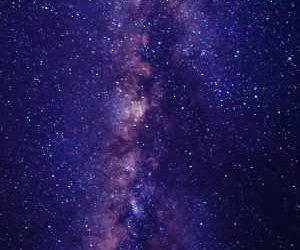 Landscape Galaxy Wallpaper